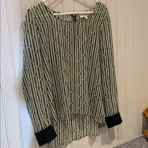 Sheer Olive &Oak blouse